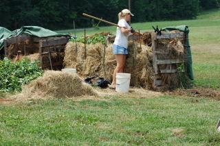 Building a Compost Pile