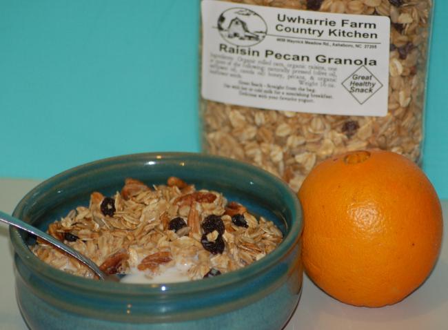 Country Kitchen Recipe:  Granola
