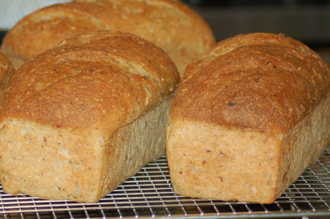 Homemade Bread, Great for Turkey Sandwiches