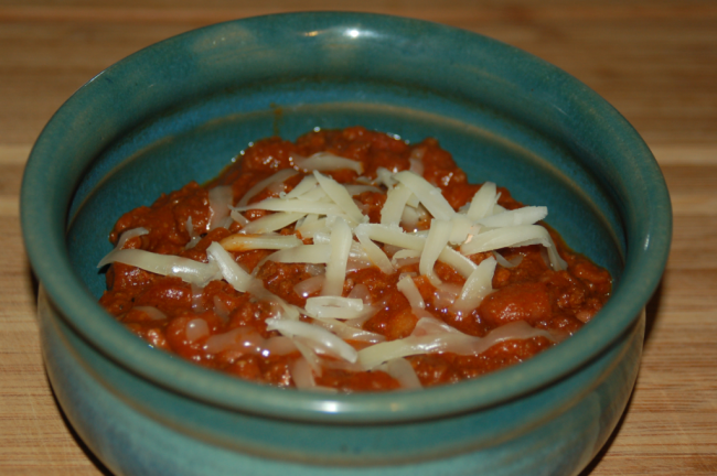 Chili Beans: Tasty, Warming and Hearty
